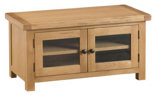 Cornish Oak Standard TV Unit